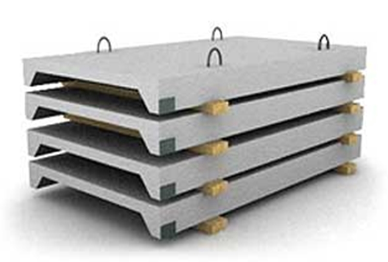 Перекрытие плиты железобетонные ребристые 3х6